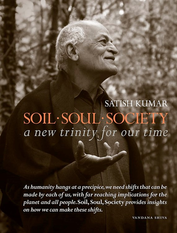 Satish's book: Soil - Soul - Society