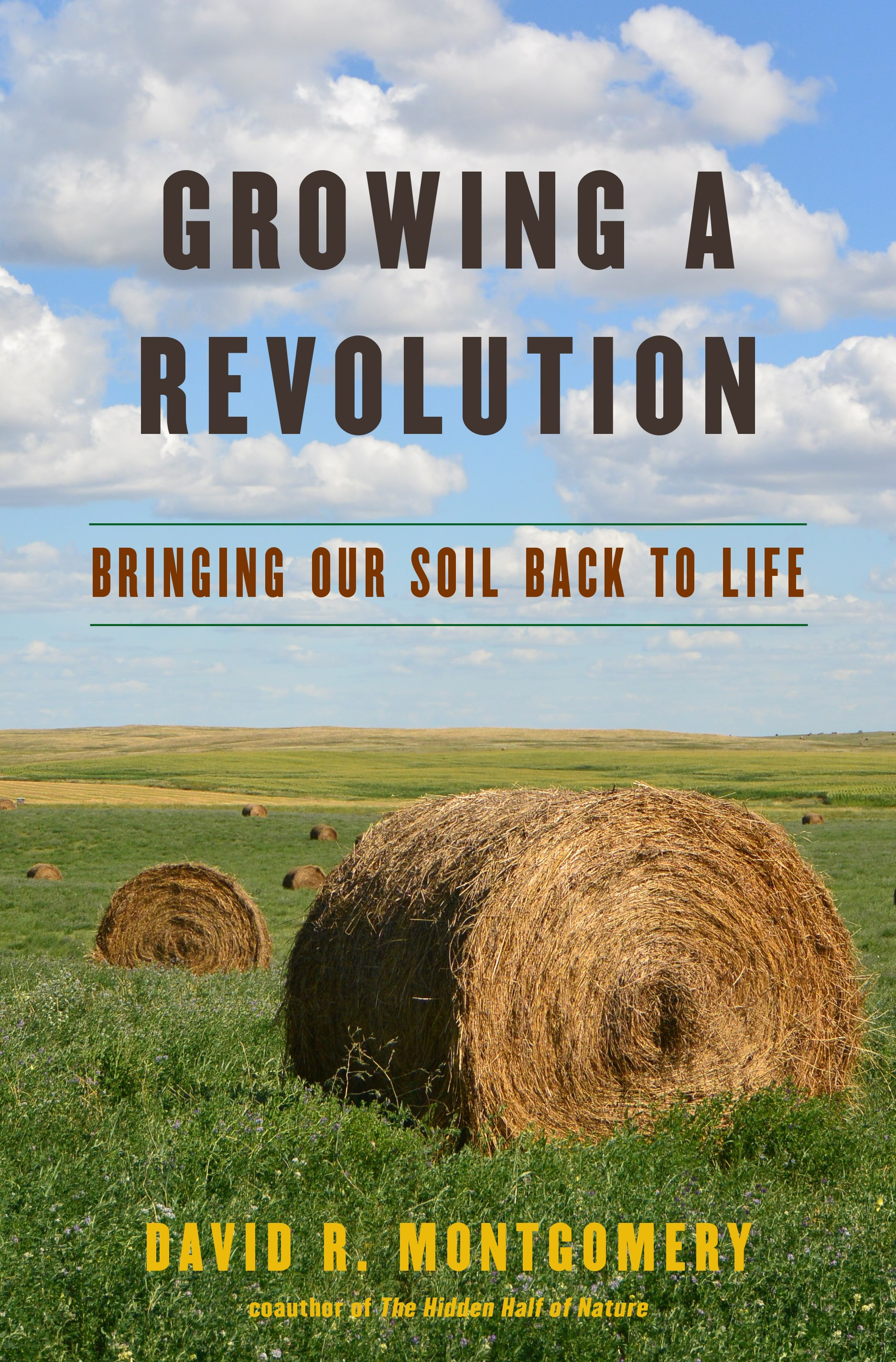 Book cover of David Montgomery's Growing a Revolution