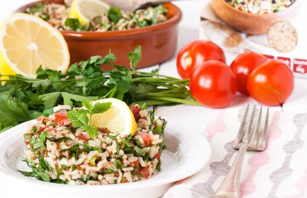 Rice And Quinoa Tabbouleh