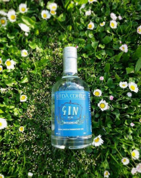 Botanical gin from Da Mihle distillery
