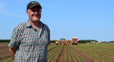 Farmers working together for soil health