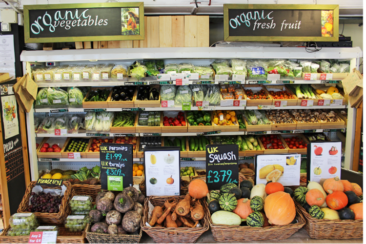 Better Food Company Organic Retailer Shelves Of Food