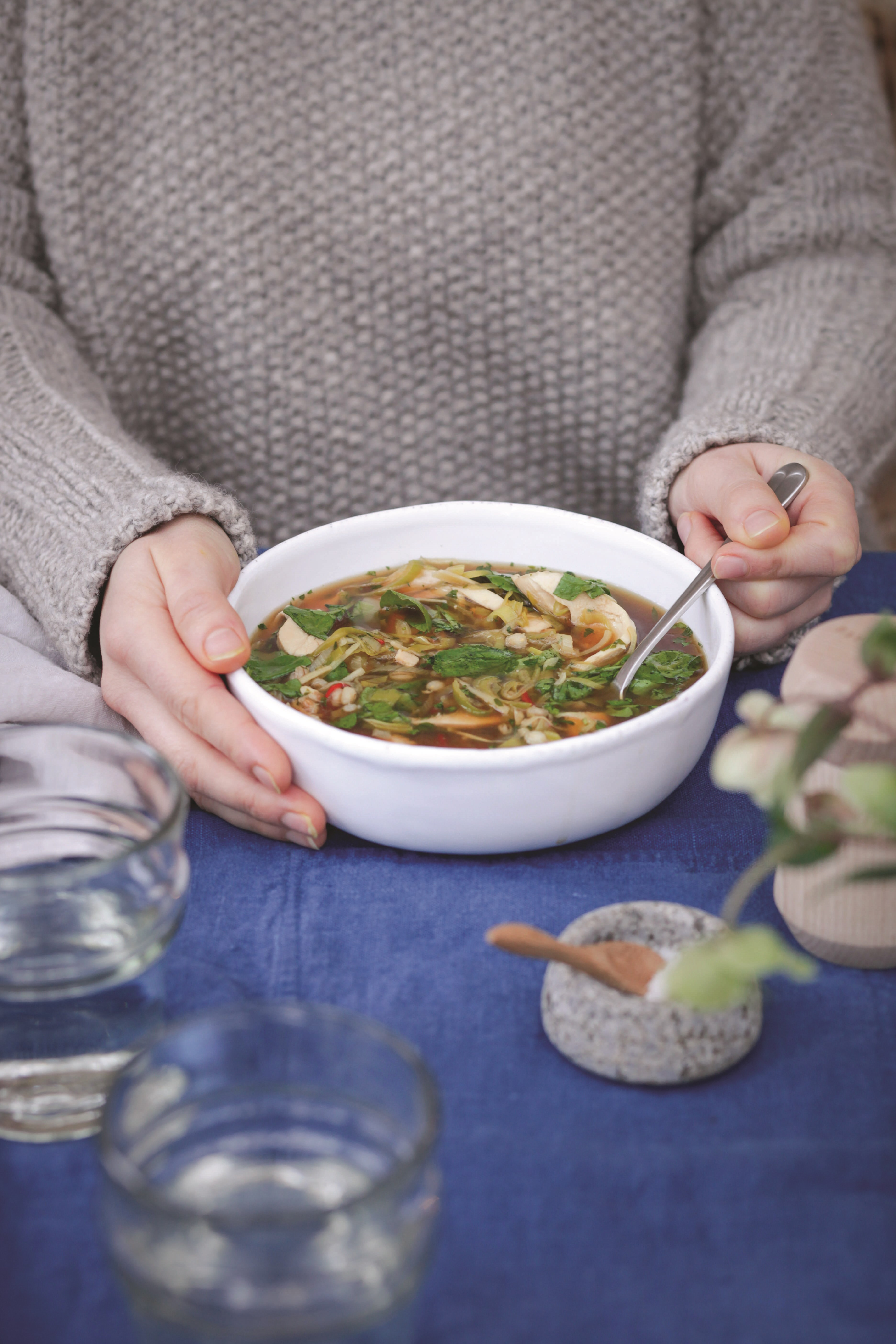 Comforting Chicken Broth