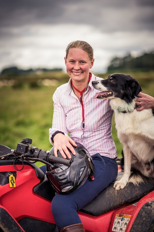 Alice Muir, Assistant Farm Manager