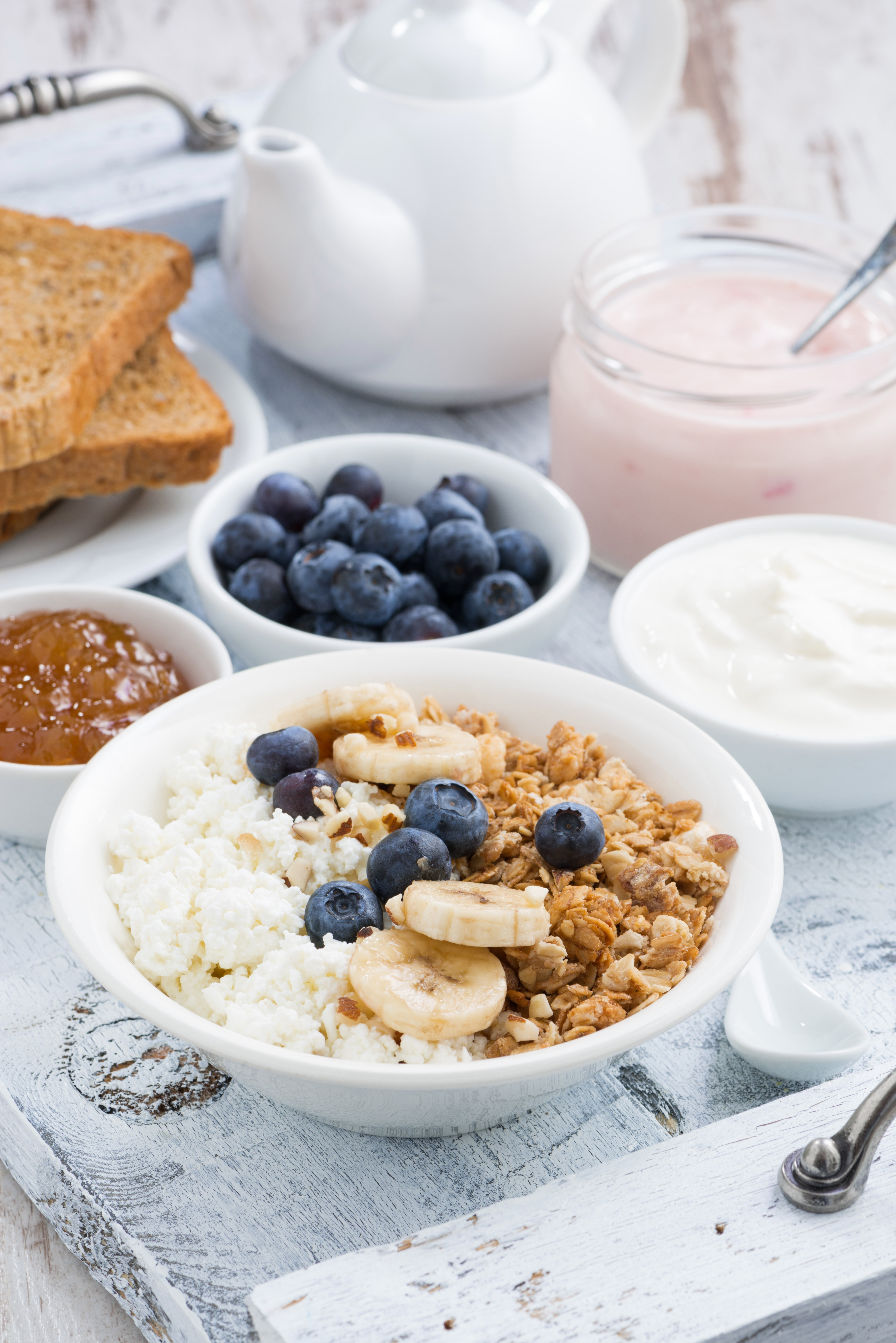 Breakfast cereal with blueberries, banana and yoghurt.jpg