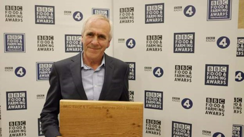 a winner at the BBC Food and Farming awards