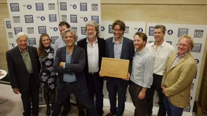 Hodmedods at the BBC Food and Farming Awards