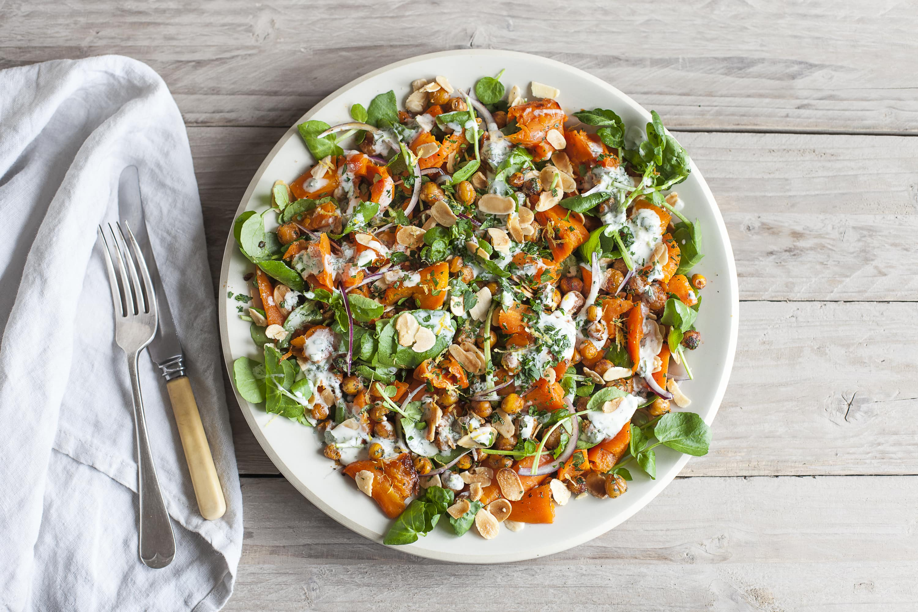 Crushed Carrot Salad