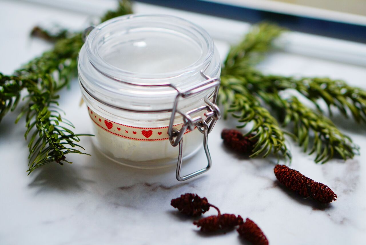 Body Butter in jar