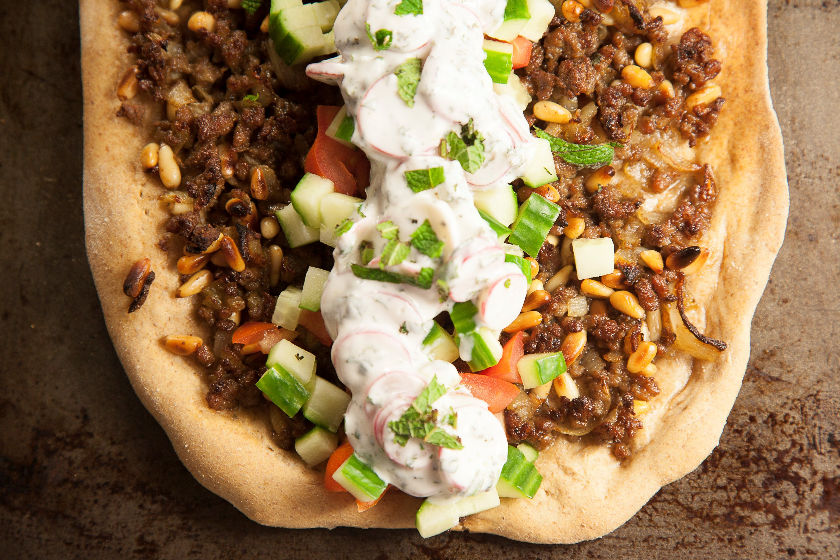 Turkish pizza with radish & mint tzatziki-2.jpg