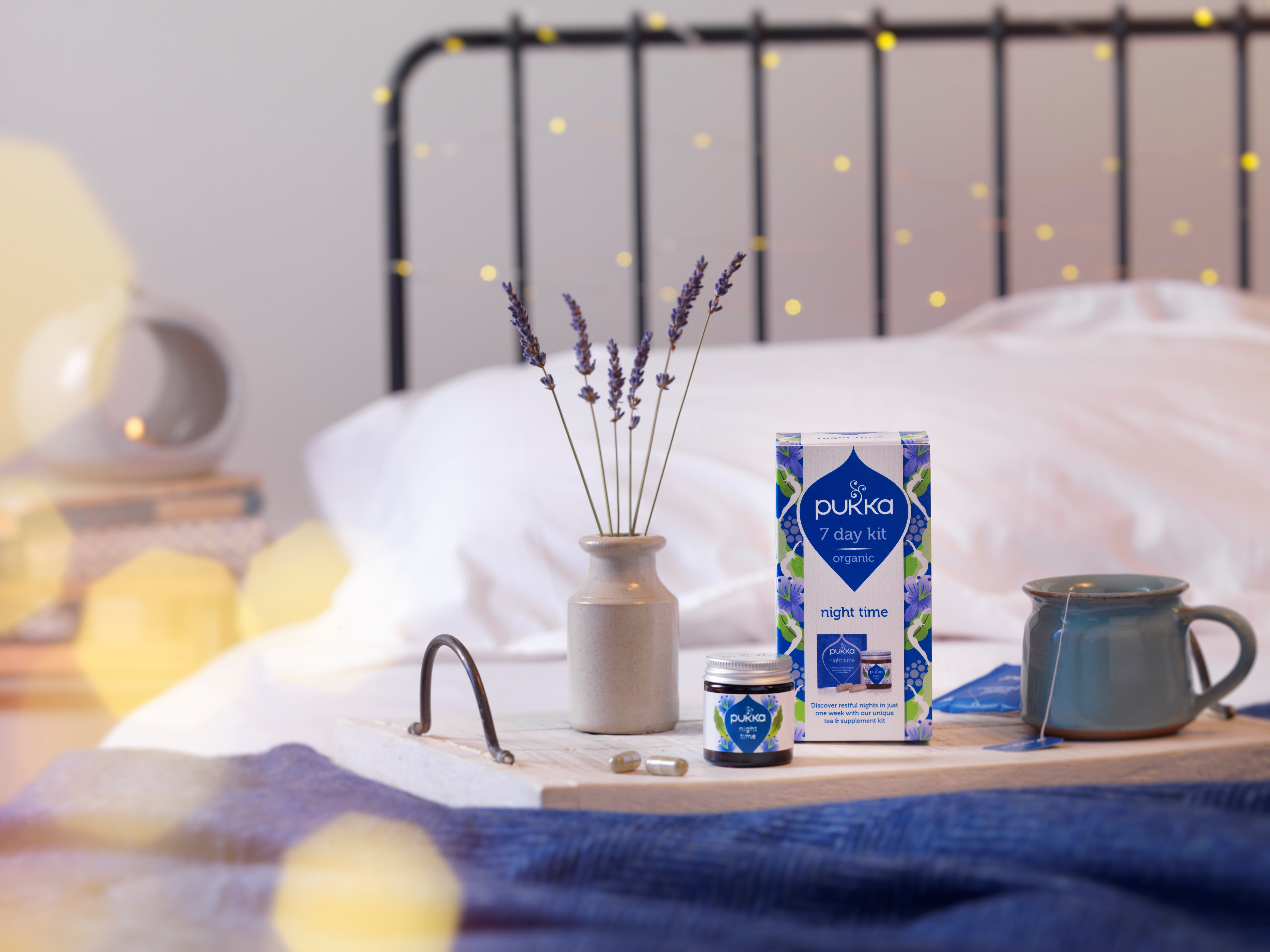 Bath Salts to Aid Beauty Sleep by Medical Herbalist, Katie Pande