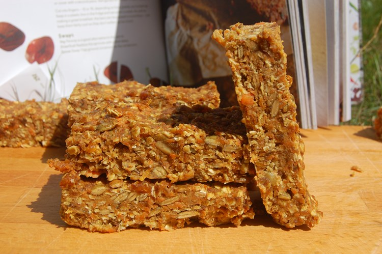 Nutcessity Carrot Cake Bars