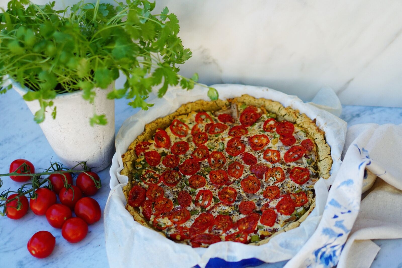 Lilo Ask-Henriksen's Simple Organic Quiche