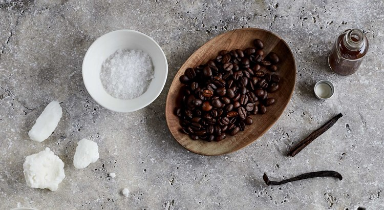 Coffee Scrub Ingredients