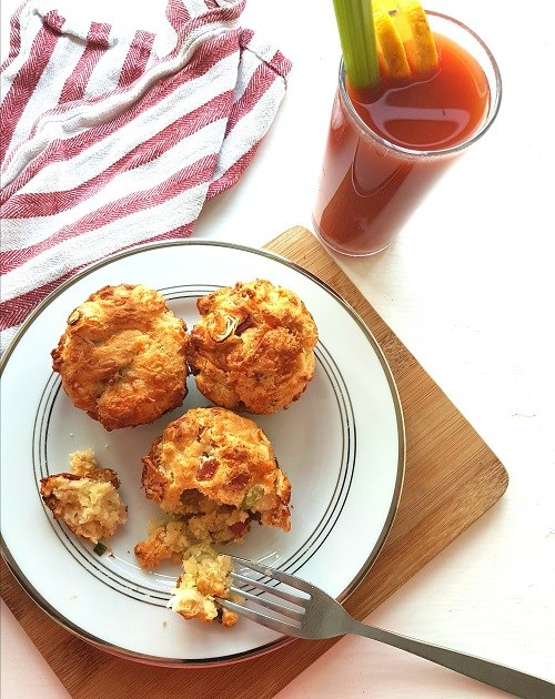 Godminster savoury cheese & bacon scones