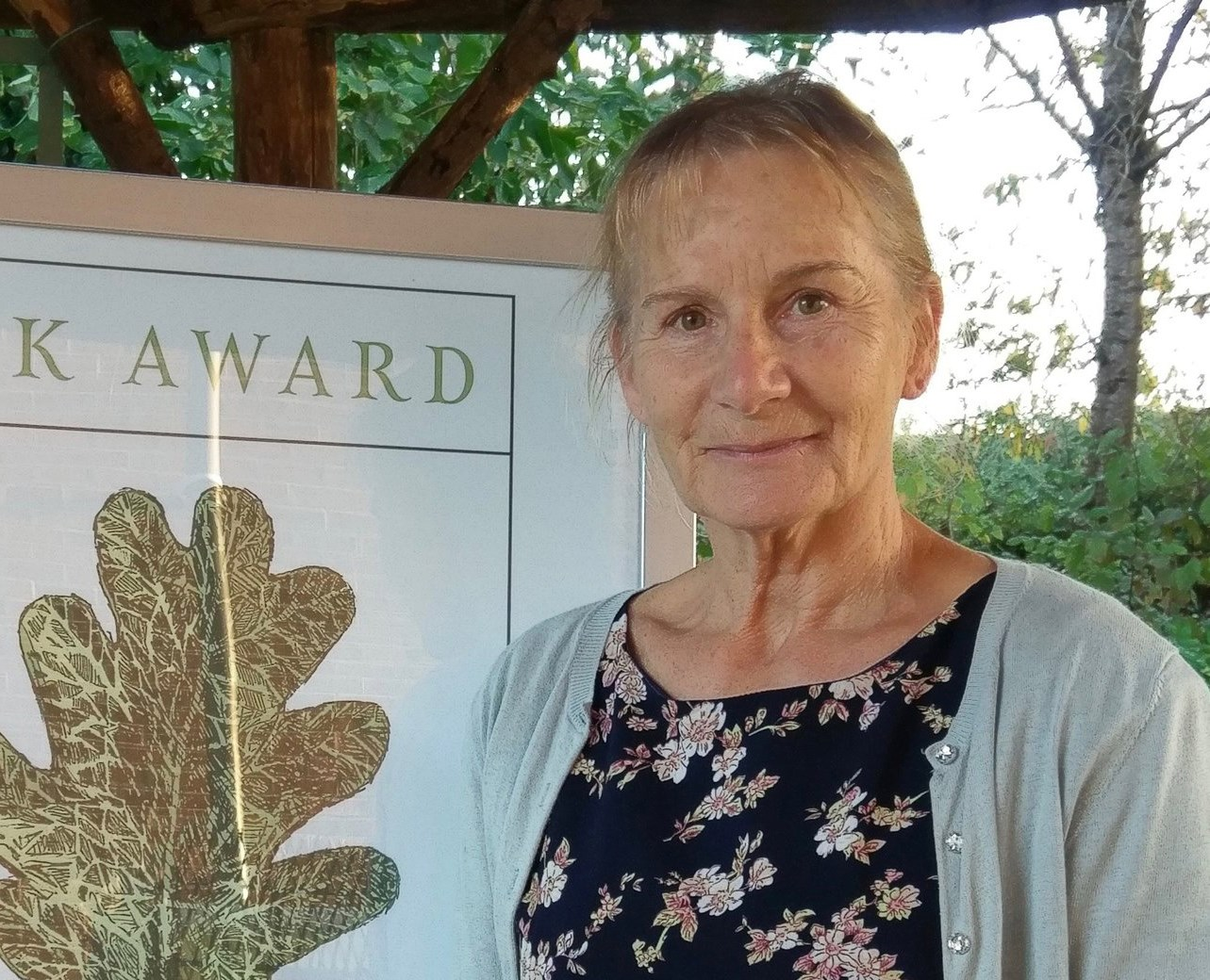 Susie Hewson celebrated at Oak Awards