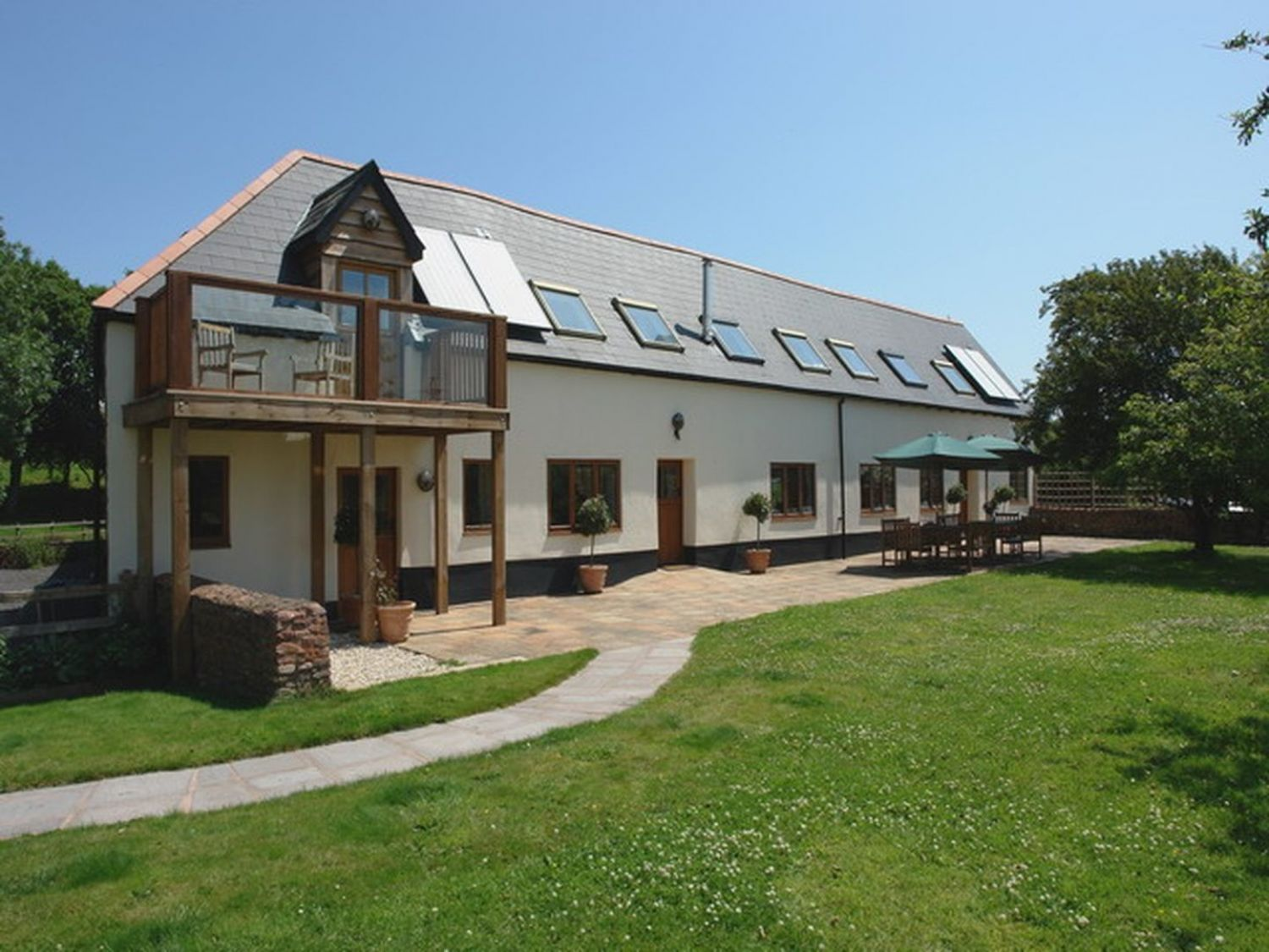Hayloft barn conversion at maddocks farm