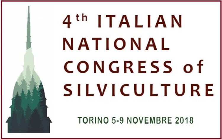 4th Italian National Congress of Silviculture logo
