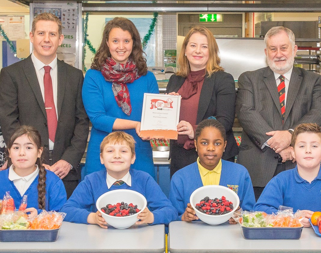 West Lothian joins Food For Life