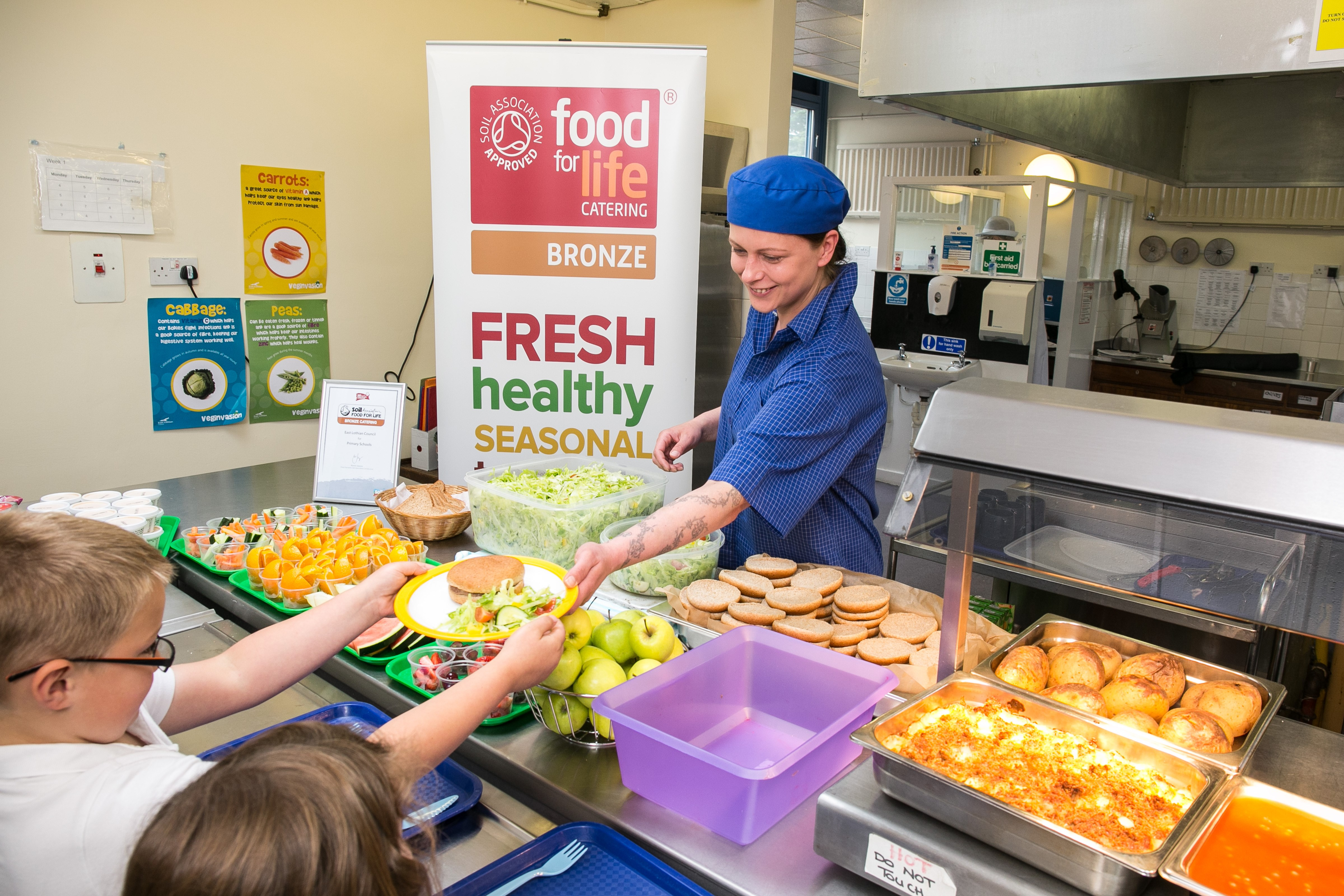 East Lothian celebrate Food for Life