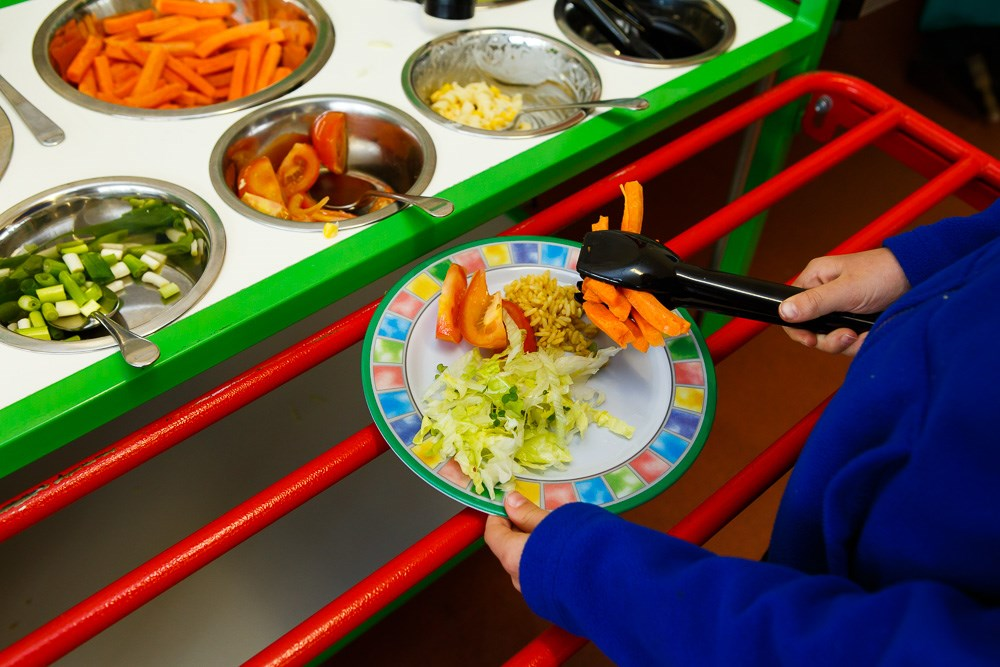 Schools need plant-based day