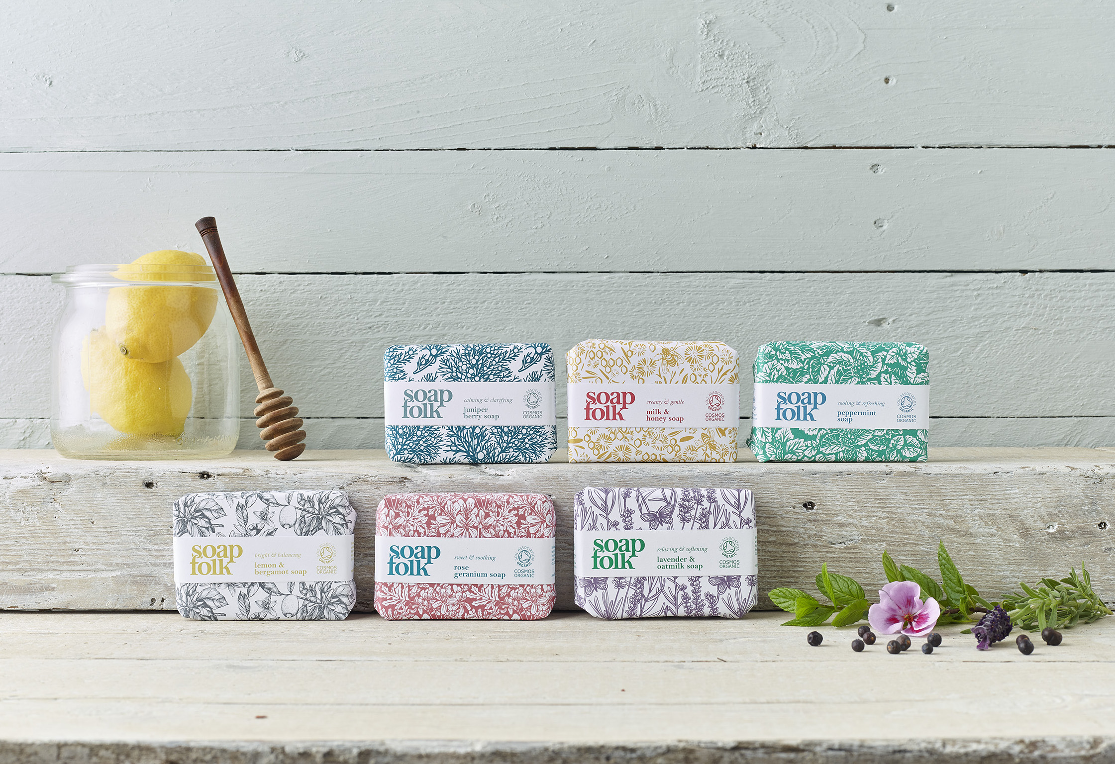 Soap Folk bar soap range