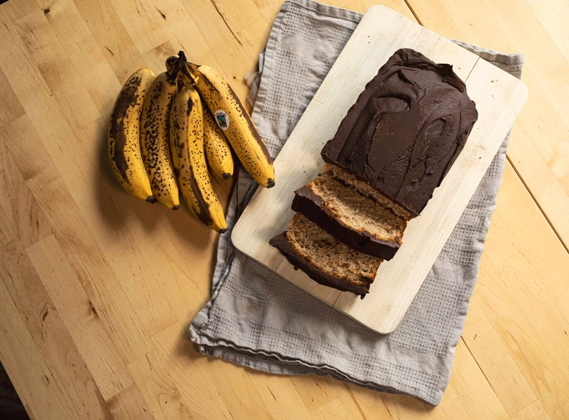 Cocoa Loco's Chocolate Banana Bread