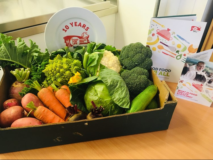 food for life and veg box