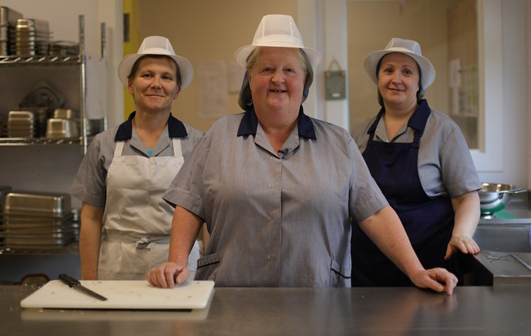 Dinnerladies at Knightsridge Primary School