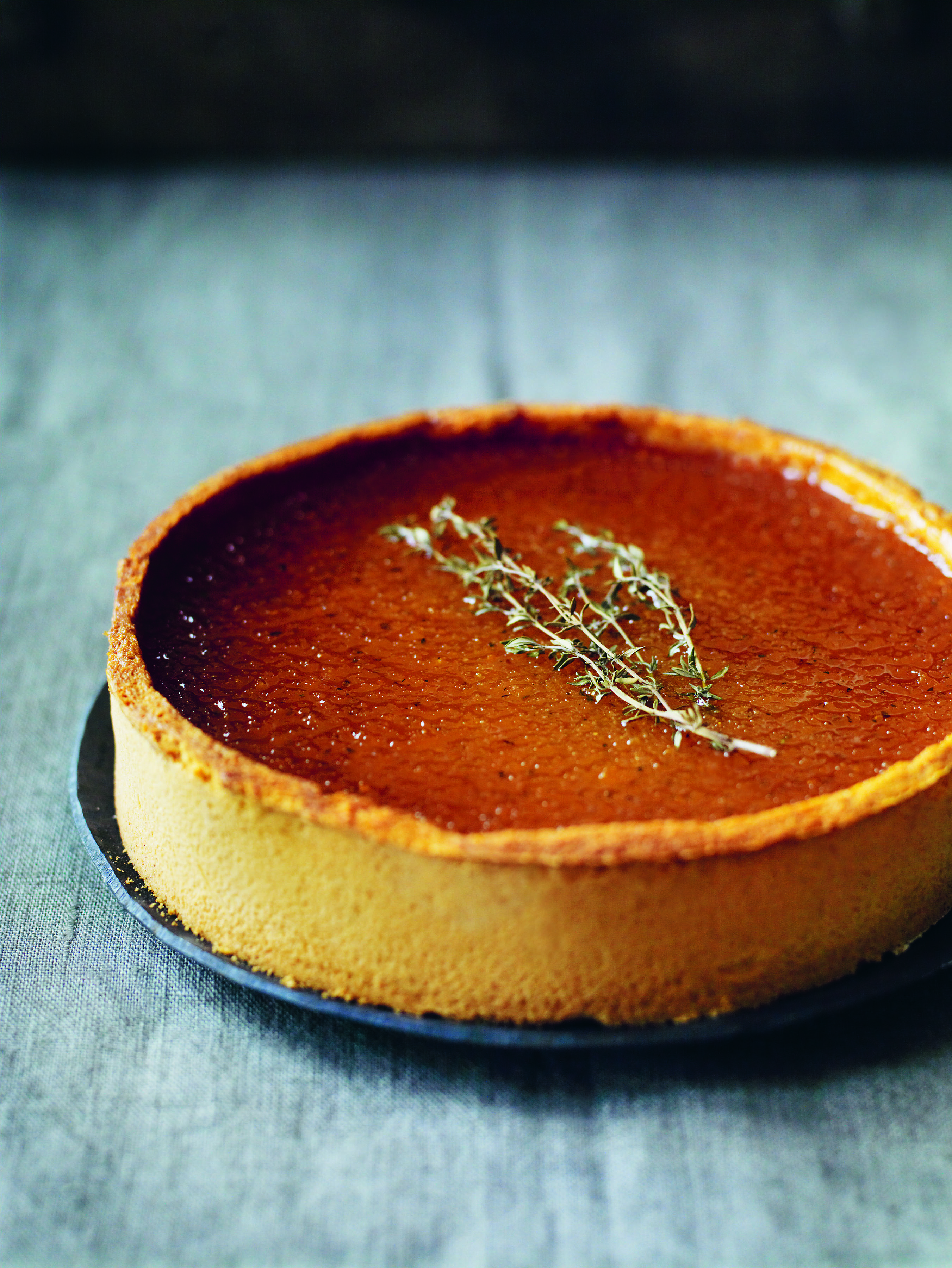 Thyme & Orange Treacle Tart