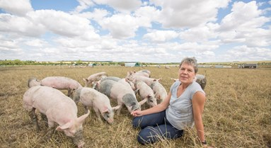 Celebrating women in farming on International Women's Day