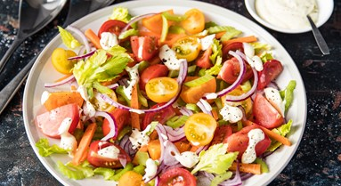 Easy 'Veg Drawer' Tomato Salad