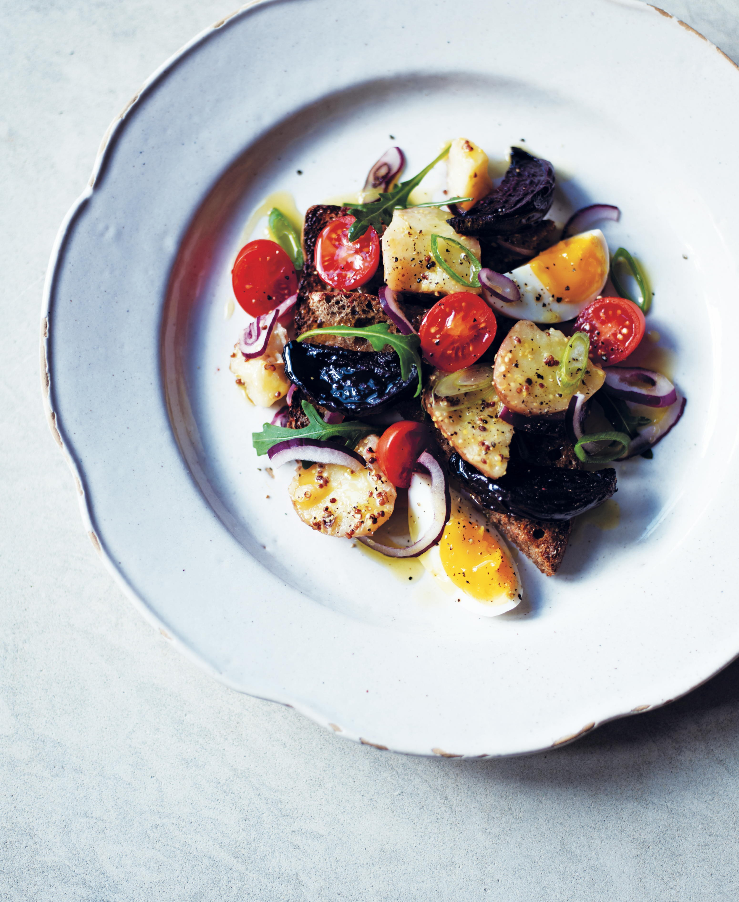 Jordon Bourke's organic beetroot & cherry tomato recipe