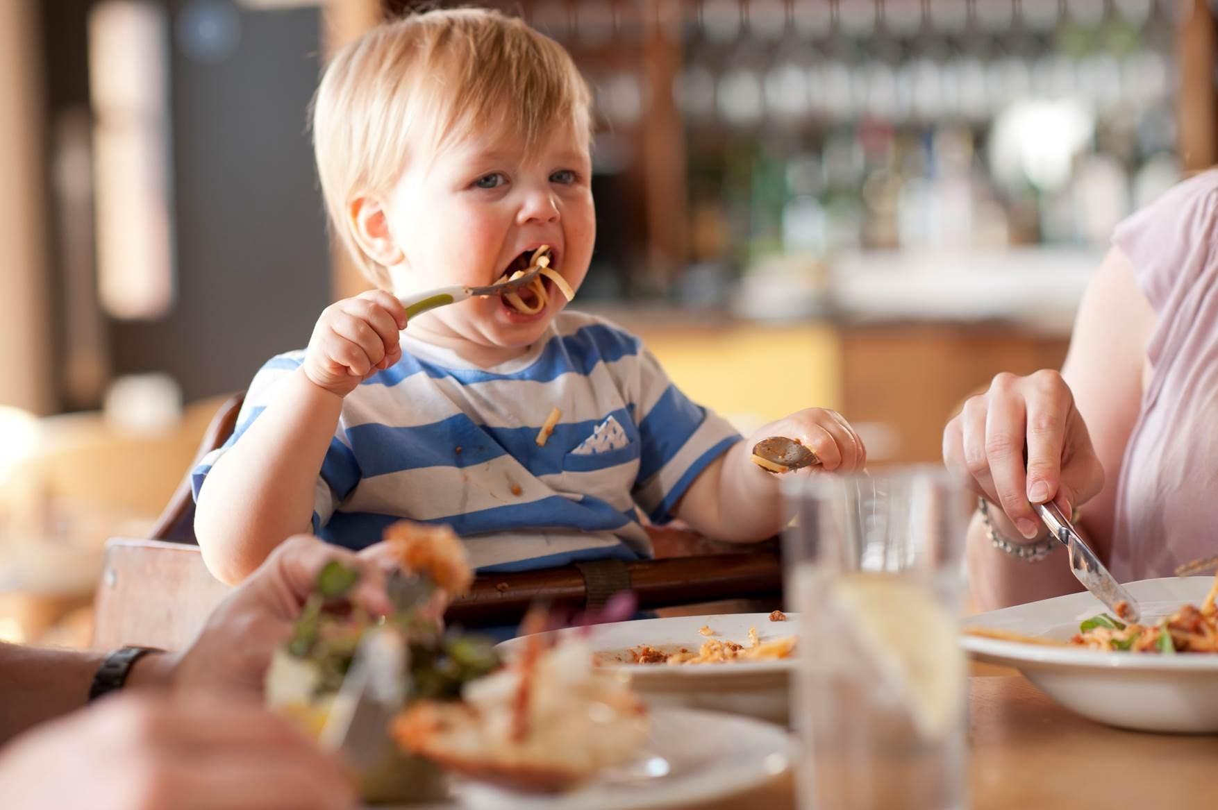 Eating out with kids...when is a treat not a treat?