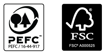 fsc and pefc logos