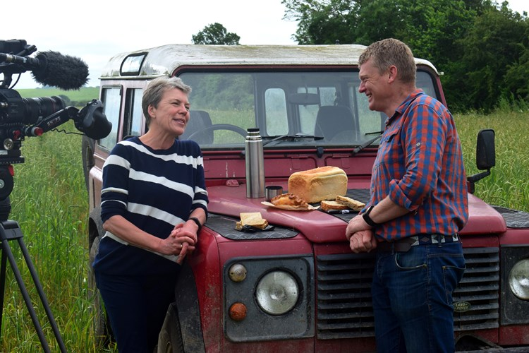 Helen Browning on Countryfile