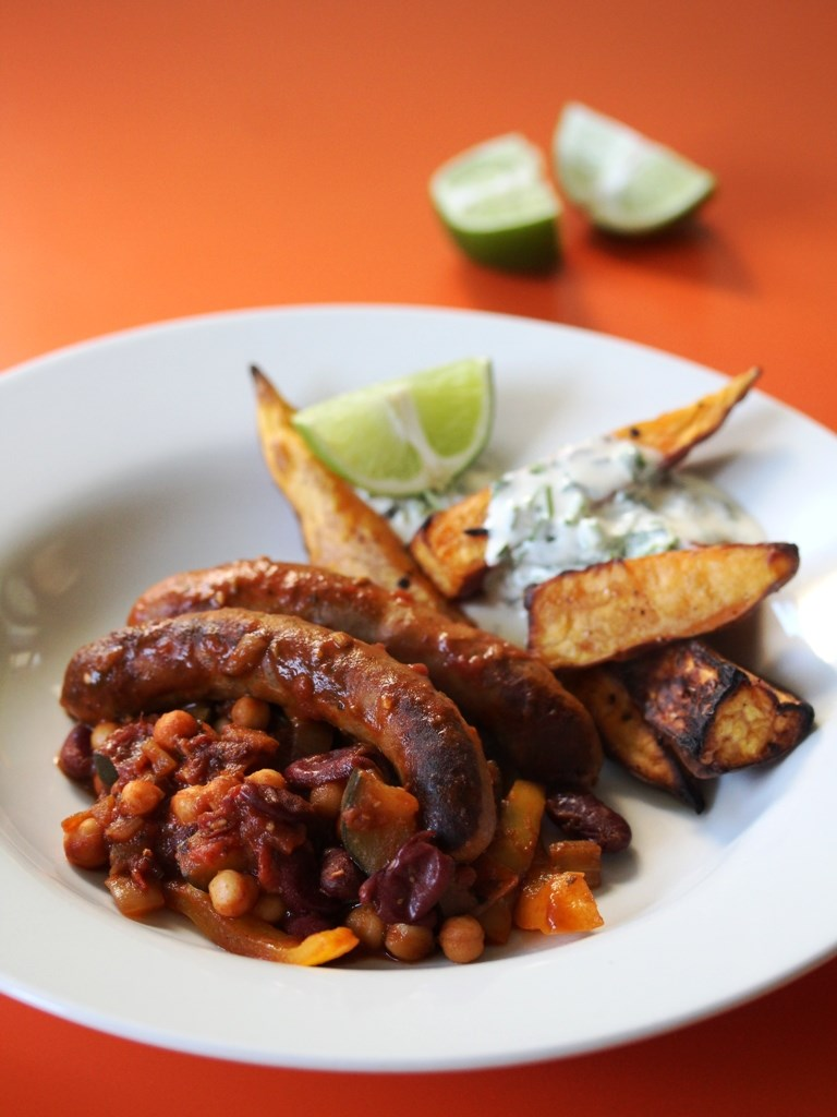 Spicy Sausage Chilli