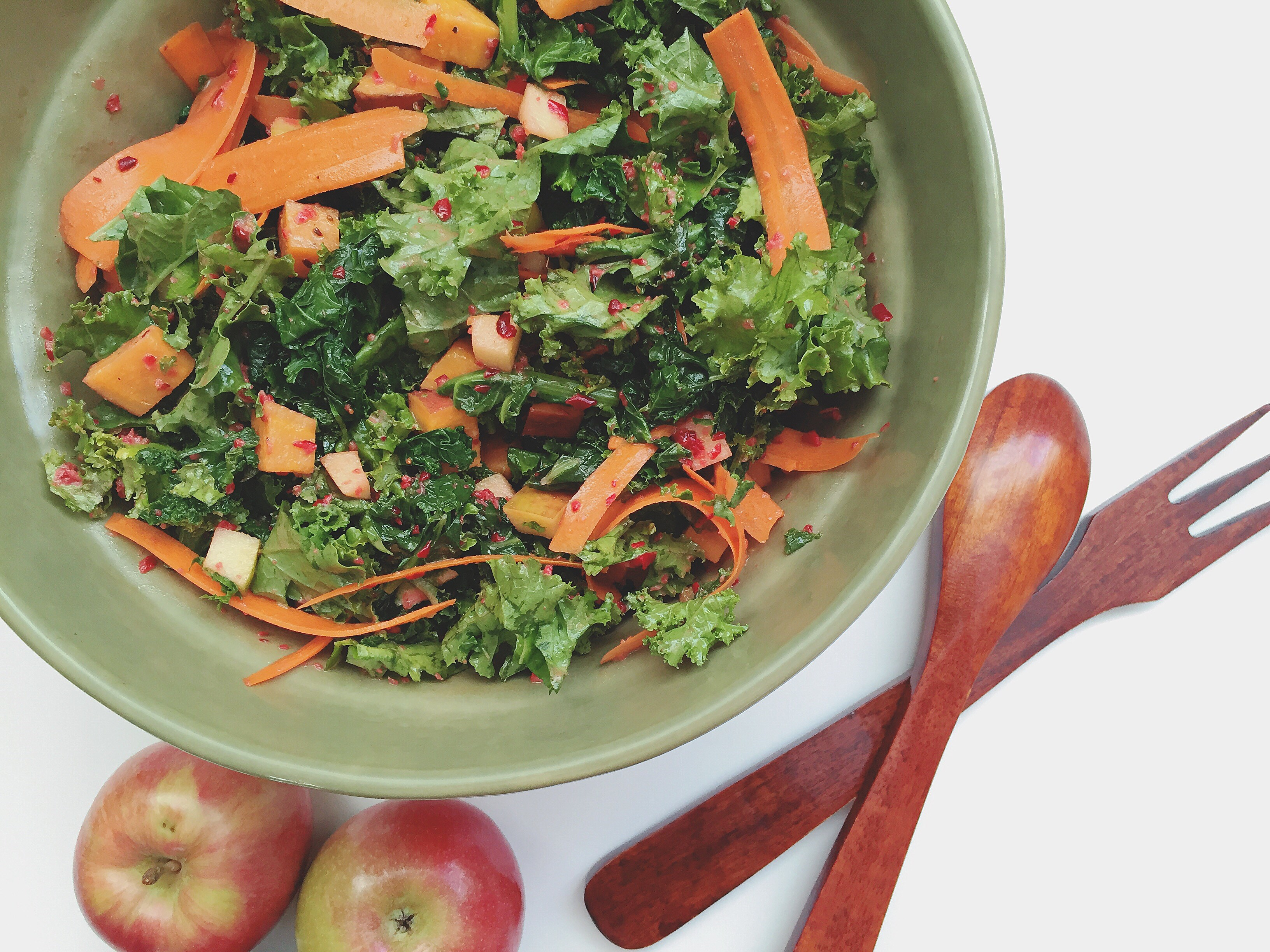 Jolene Hart's Warm Autumn salad